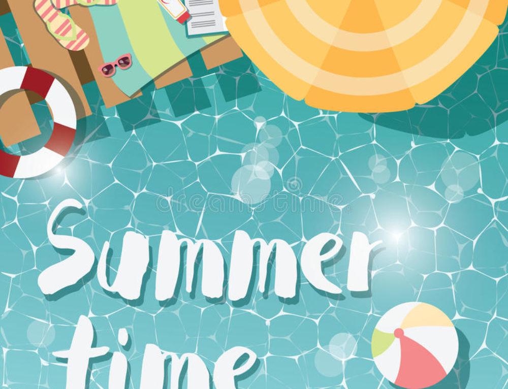 Artículos de verano, para disfrutar en la piscina y playa