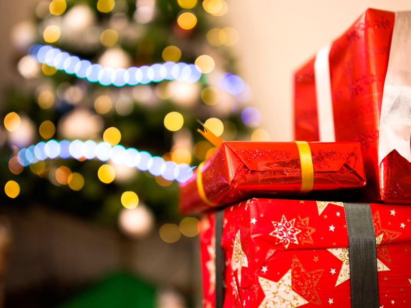 regalos promocionales en Navidad
